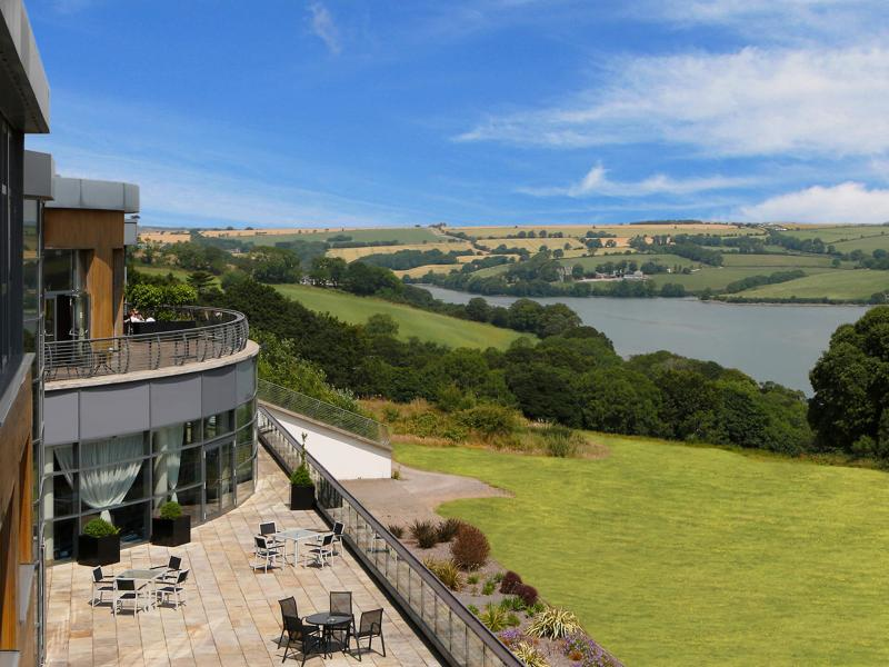 Kinsale wedding venue exterior balcony