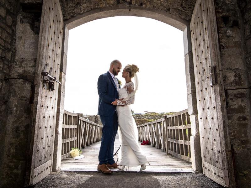 Couple in the doorway at Kinsale Hotel & Spa
