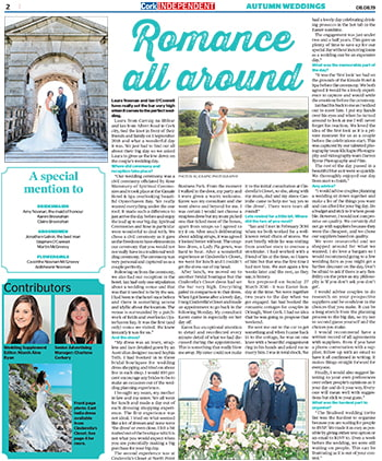 Cork Independent - Weddings Feature